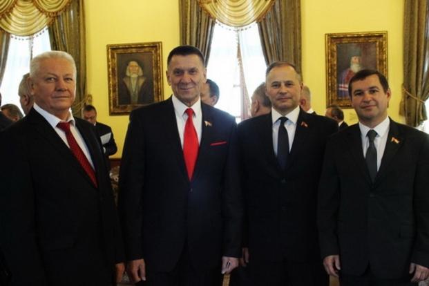 Совет делового сотрудничества в рамках V Форума регионов Беларуси и России в ратуше г. Могилёва