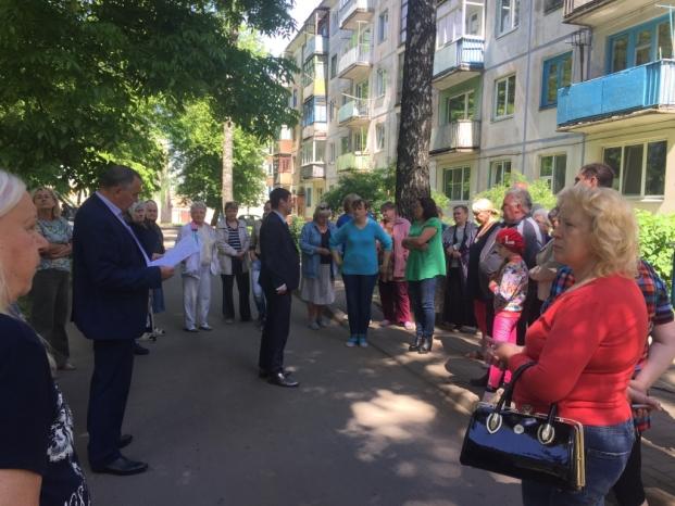 Встреча с жителями 85 избирательного округа