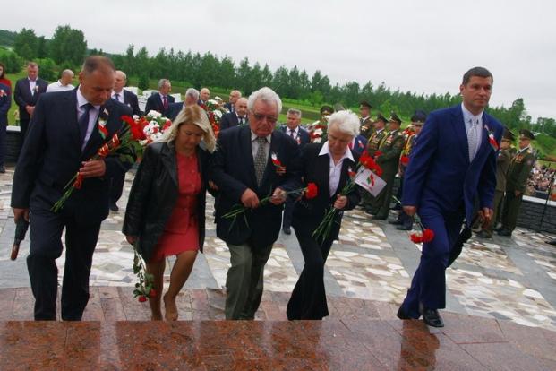 3 июля 2017 на Буйничском поле. Мероприятие ко Дню Независимости Республики Беларусь.